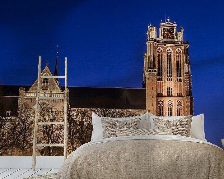 Sfeerimpressie behang: Dordrecht 7 van John Ouwens