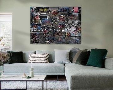 Fietsen compositie van b- Arthouse Fotografie