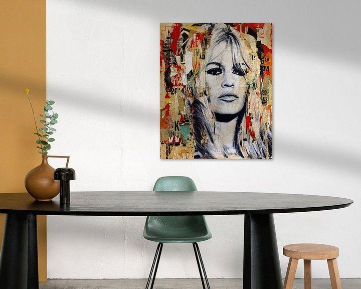 Sfeerimpressie: Brigitte Bardot van Michiel Folkers