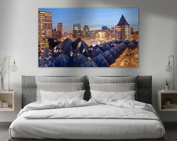 Rotterdam by night von Nadine Salas