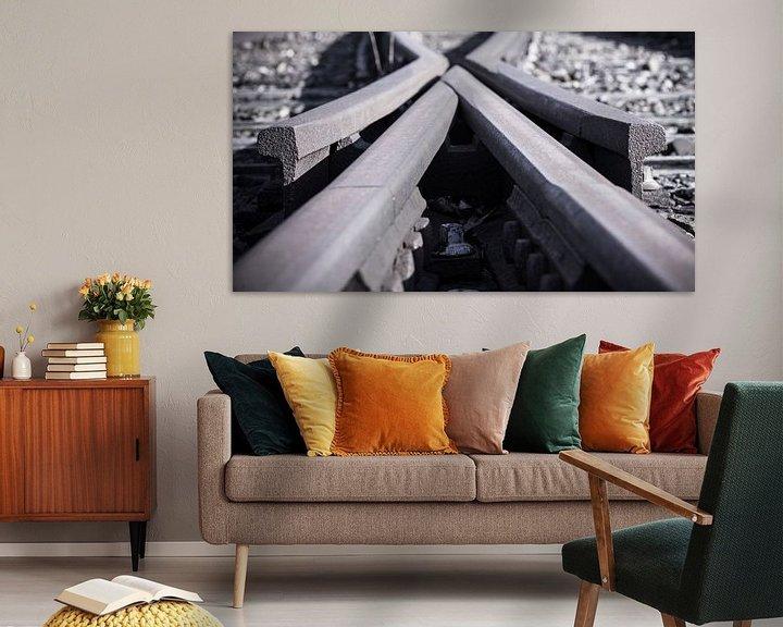 Beispiel: Abstrakte alte Weiche von Fotografiecor .nl