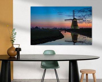 Rainbow windmill van Chris Snoek