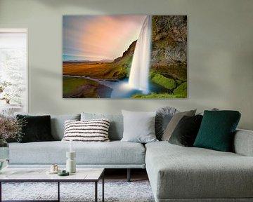 Cascade de Seljalandsfoss von Arnaud Bertrande
