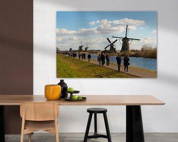 Windmills and Tourists