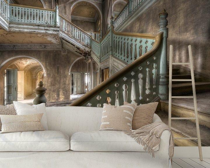 """Beispiel fototapete: Lost Place - Villa """"ums Eck"""" von Carina Buchspies"""