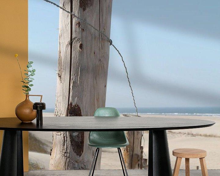 Impression: Fence at the beach sur Marit Visser