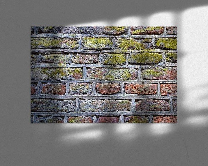 Sfeerimpressie: Stadsmuur Zwolle van Frans Blok