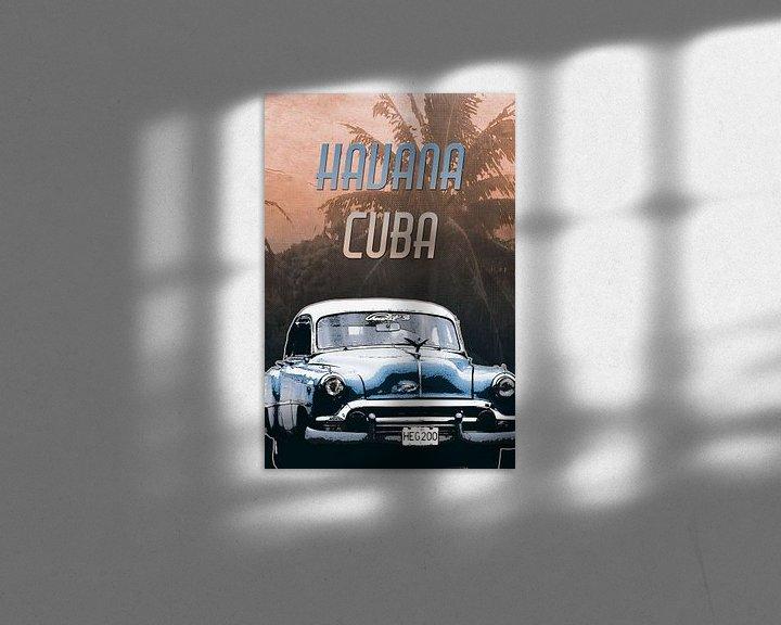 Beispiel: Havana Cuba von Nannie van der Wal