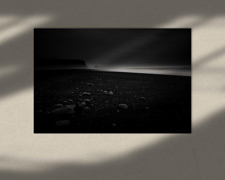 Sfeerimpressie: Zwart strand van Prachtt