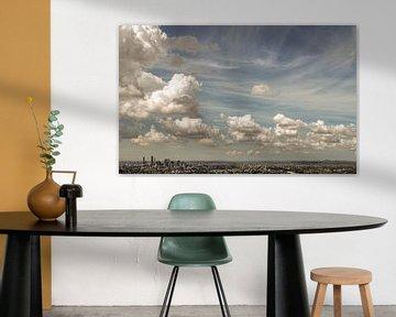 Wolken über der Stadt Brisbane