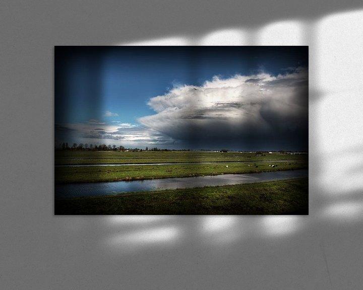 Sfeerimpressie: Wolken van Eus Driessen