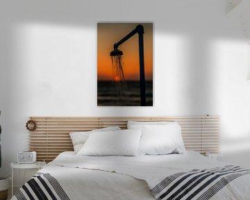 sunsetshower van Michel de Koning