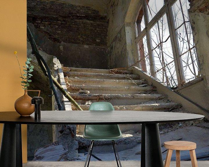 Beispiel fototapete: Downstairs... von Jaco Verheul