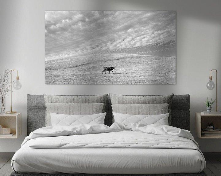Sfeerimpressie: Eenzame koe van Bastiaan Schuit