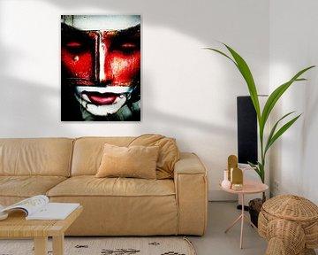 The red mask von Gabi Hampe