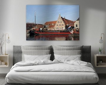 Stadstimmerwerf Leiden van Carel van der Lippe