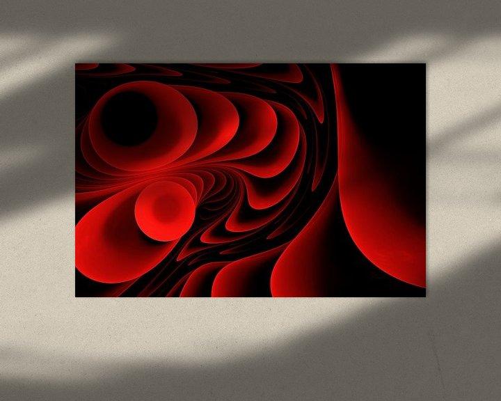 Sfeerimpressie: Melody in rood van Max Steinwald