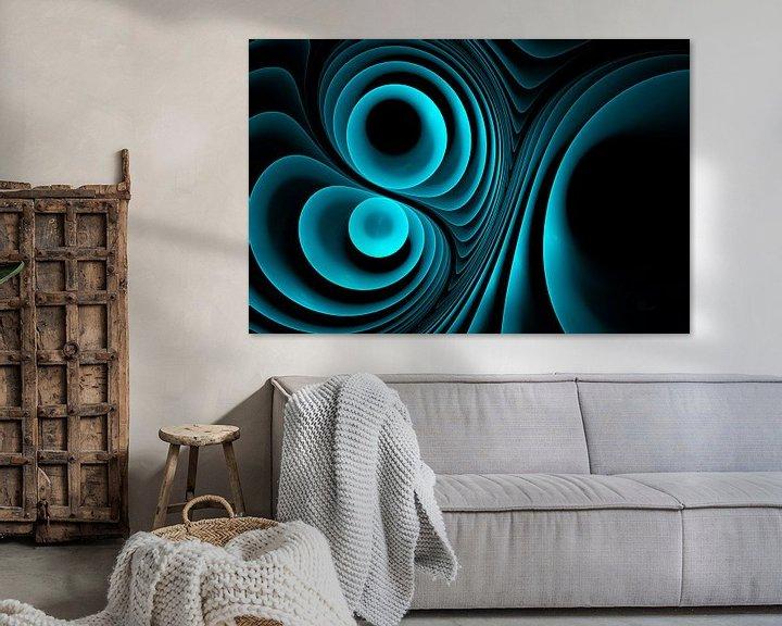 Sfeerimpressie: Melody in blauw van Max Steinwald