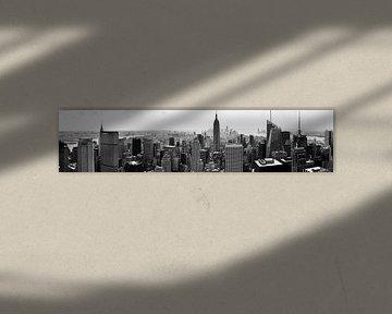 Manhattan panorama van Joran Maaswinkel