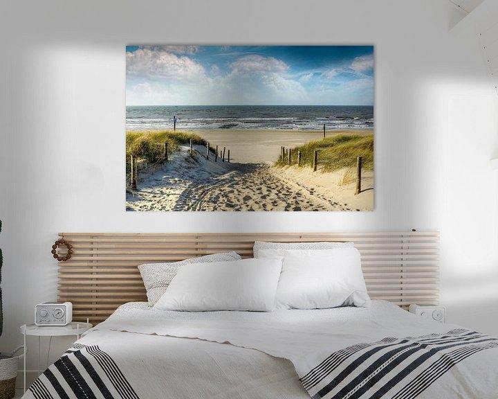 Sfeerimpressie: Manier in de duinen naar het strand van Peter Roder