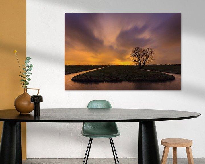 Sfeerimpressie: Kunstlicht in de polder van Frans Batenburg