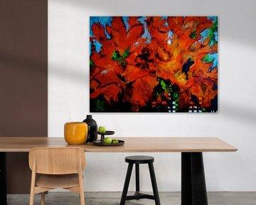 Autumn leaves van Ada Krowinkel