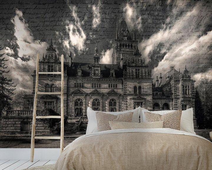Beispiel fototapete: Lost Place - das Märchenschloss von Carina Buchspies