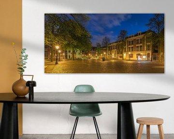 Domplein in Utrecht in de avond van Tux Photography