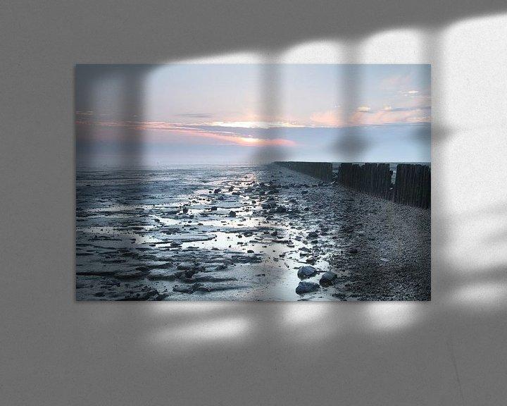 Sfeerimpressie: Zonsopkomst aan de waddenkust van Martzen Fotografie