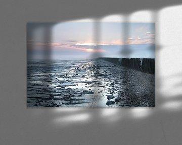 Zonsopkomst aan de waddenkust van Martzen Fotografie