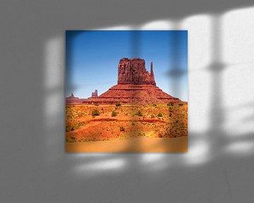 MONUMENT VALLEY West Mitten Butte von Melanie Viola