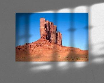 MONUMENT VALLEY Camel Butte  van Melanie Viola