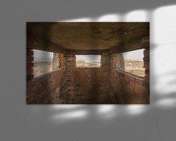 Oude Duitse bunker op het eiland Terschelling von Tonko Oosterink