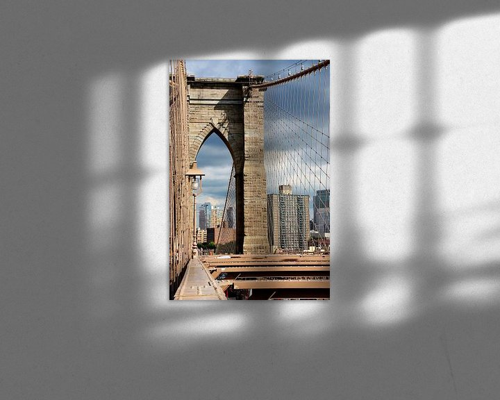 Sfeerimpressie: new york city... beekjesbrug VI van Meleah Fotografie
