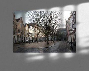 Hooglandse Kerkgracht Leiden von Carel van der Lippe