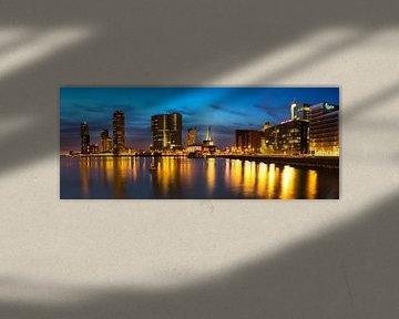 Panorama Rotterdam Rijnhaven van Peet de Rouw
