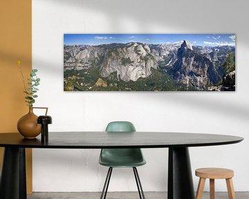 YOSEMITE VALLEY Panoramic IV van Melanie Viola