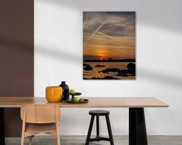 Sunset van Patrick Ruitenbeek