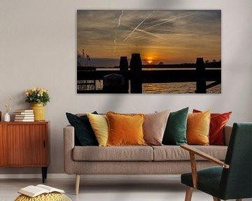 Zonsondergang van Patrick Ruitenbeek