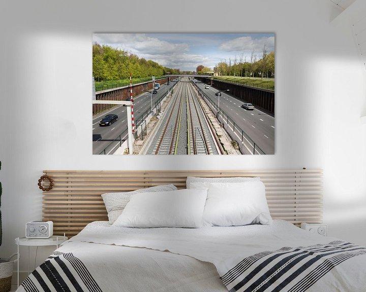 Sfeerimpressie: Noord-Zuid lijn Amsterdam Noord van Jaap Mulder