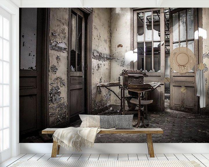 Sfeerimpressie behang: The typist van 3,14 Photography