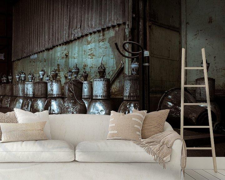 Sfeerimpressie behang: lights out. van 3,14 Photography
