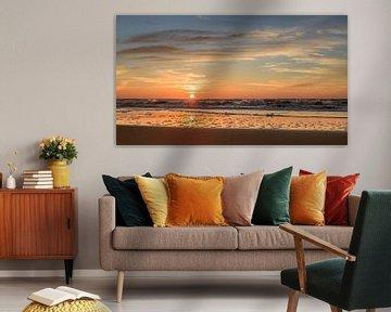 Zonsondergang Katwijk van Richard Guijt Photography