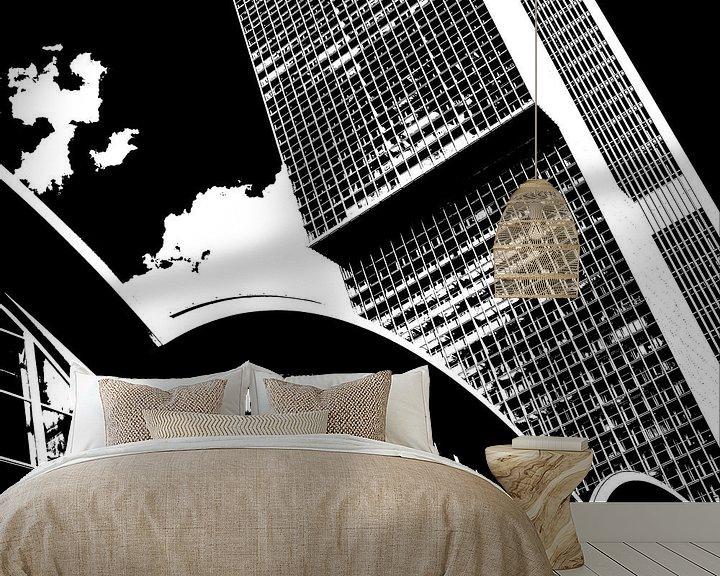 Sfeerimpressie behang: VORMEN van HANS VAN DAM