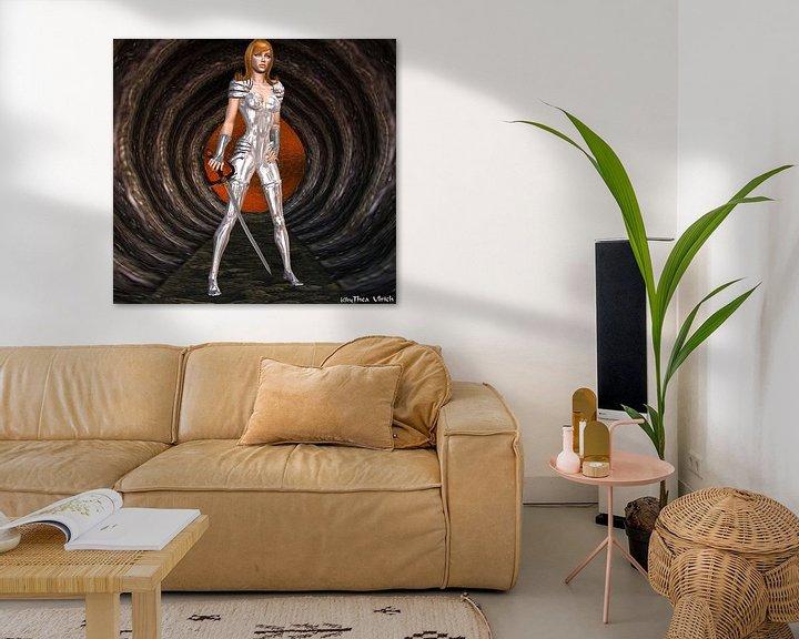 Sfeerimpressie: Silverlady van Thea Ulrich / UtheasArt