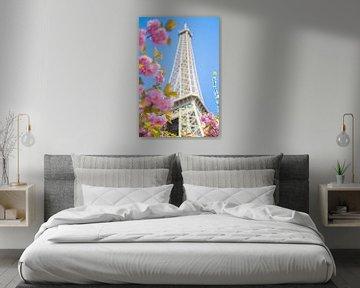 Spring in Paris van Jelmer Jeuring