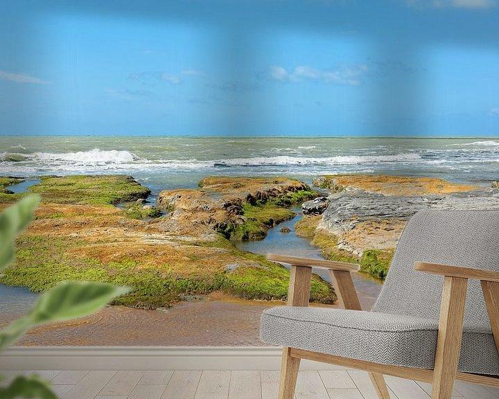Sfeerimpressie behang: A Day at the Sea van Gisela Scheffbuch
