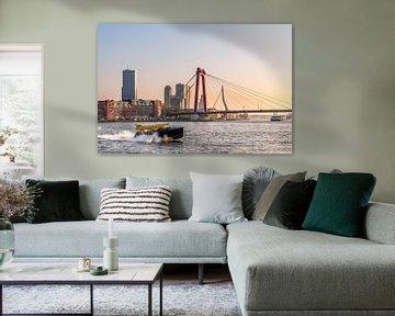 Rotterdamse Bruggen met Watertaxi van Prachtig Rotterdam