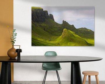 impressions of scotland - quiraing II van Meleah Fotografie