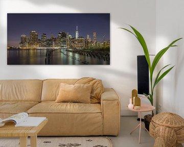 New York Skyline - 2 van Tux Photography